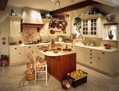 Diseño cocina con isla central