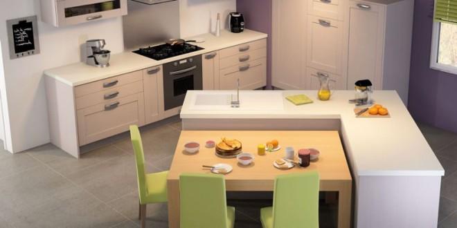 Cocina con isla y comedor hoy lowcost for Isla cocina comedor
