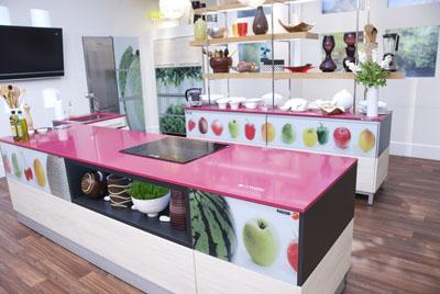 Colores Cocina con isla