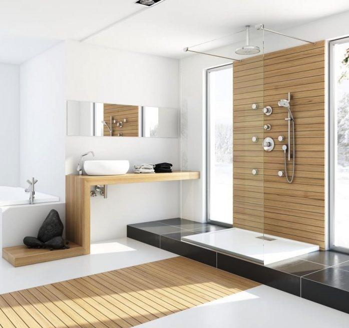 Gran baño moderno