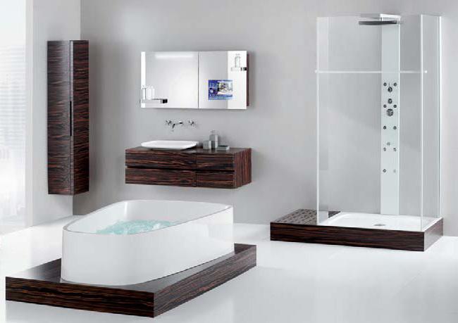 Baño minimalista de diseño