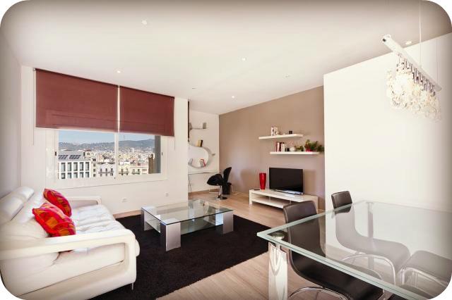 Decoraci n de salones modernos estilo minimalista hoy for Salon comedor moderno