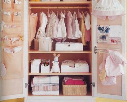 Armario vestidor para habitacion de bebe hoy lowcost - Armarios de bebe ...