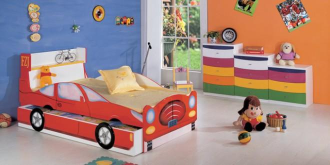 Cama decorada para dormitorio infantil hoy lowcost for Cama dormitorio infantil