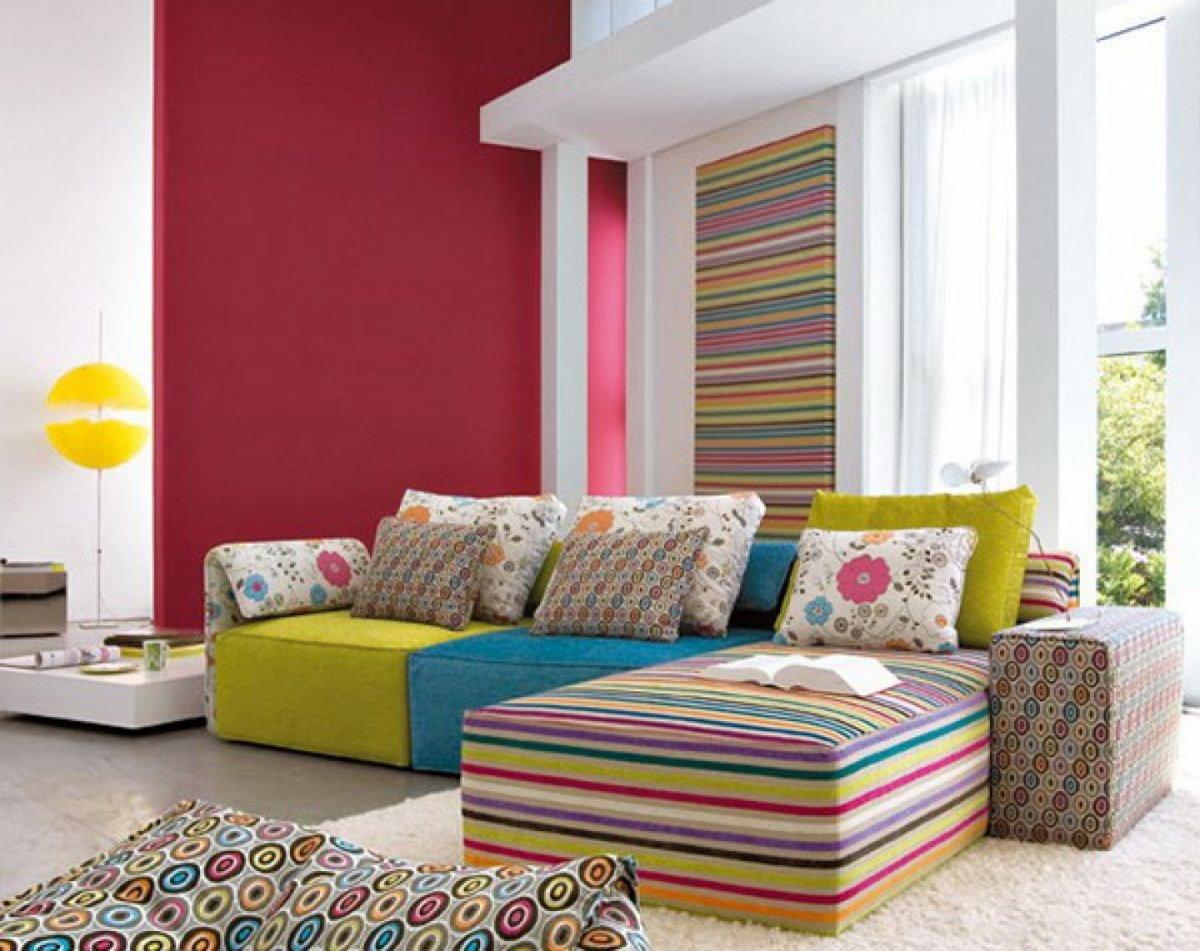 colores en diseño de salones