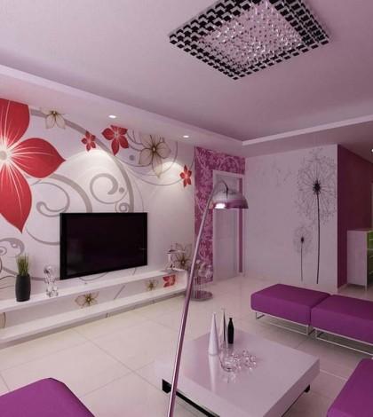 Decoraci n de salones modernos estilo minimalista hoy - Colores relajantes para salones ...