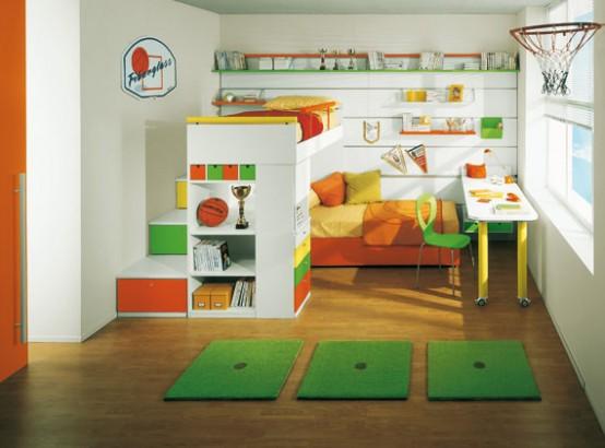cuarto infantil para varones