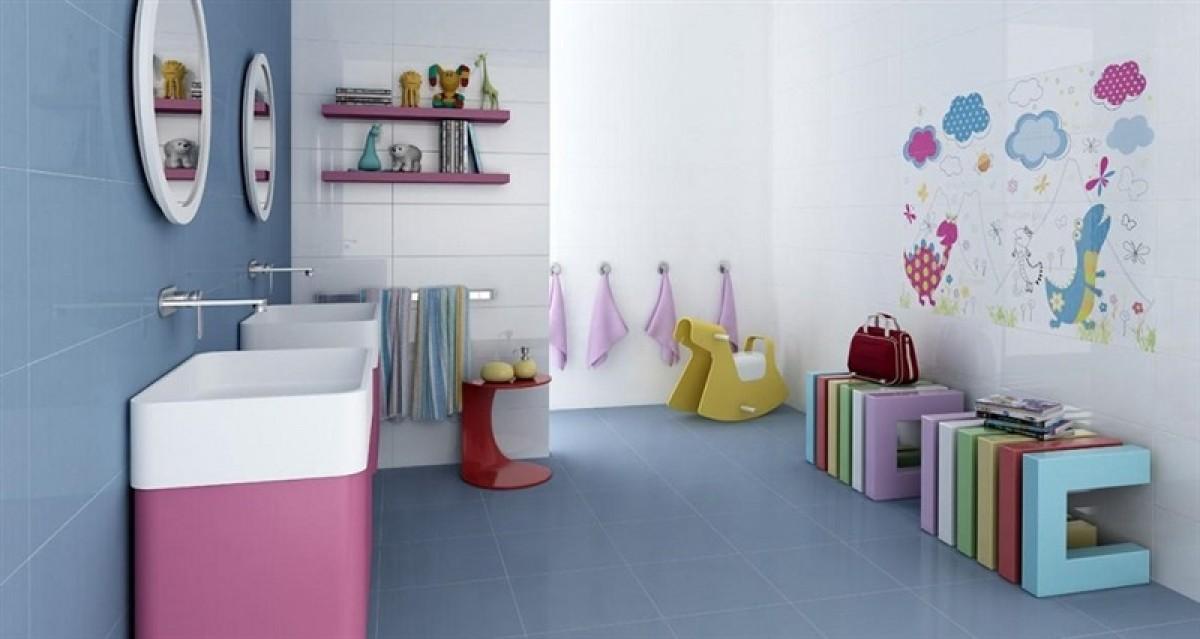 decoracion baños infantiles