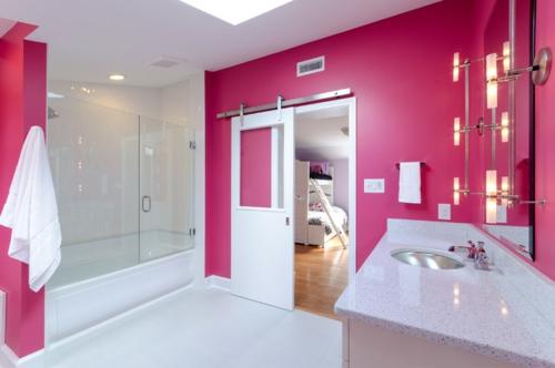 decoracion baños blanco combinados