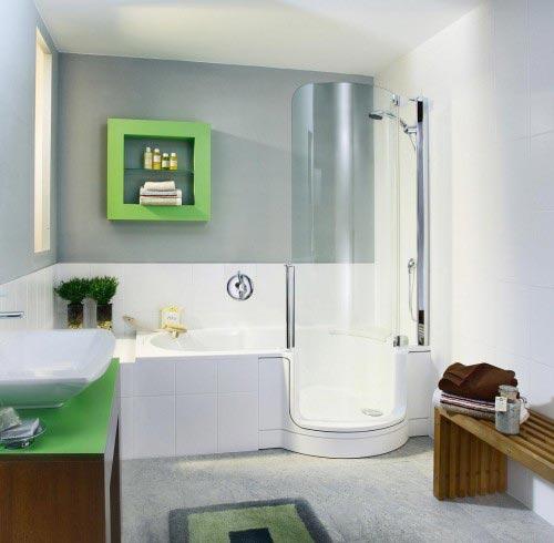 decoracion baños minimalistas
