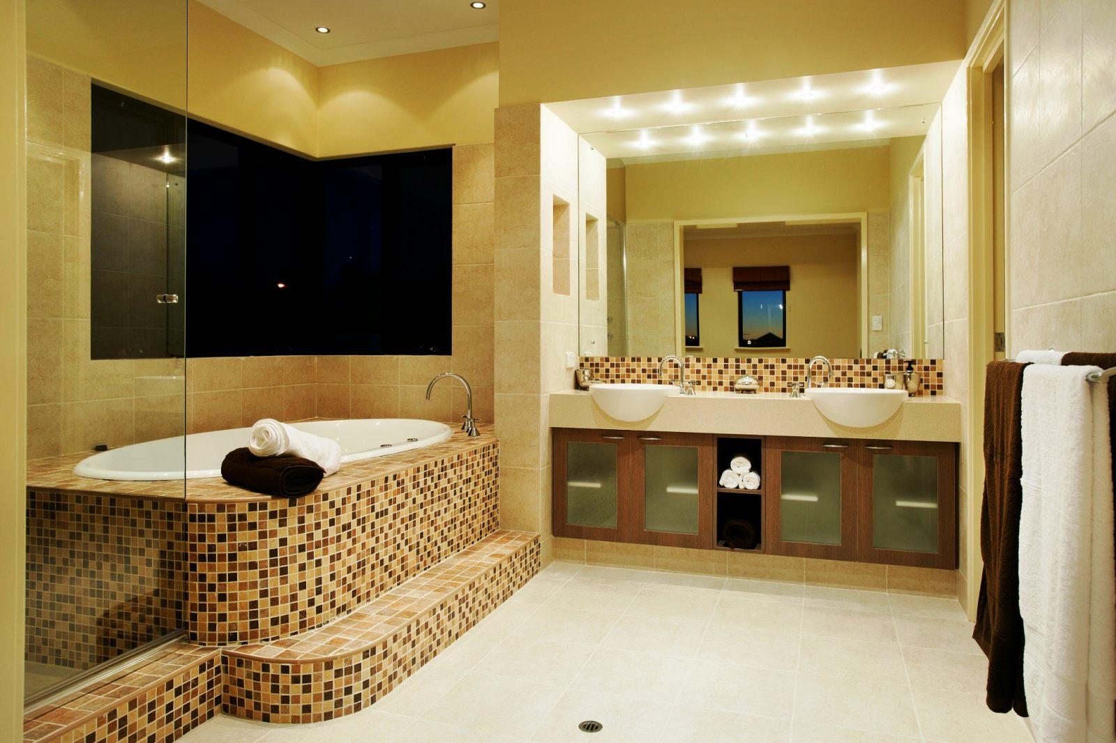 decoracion baños modernos gresite