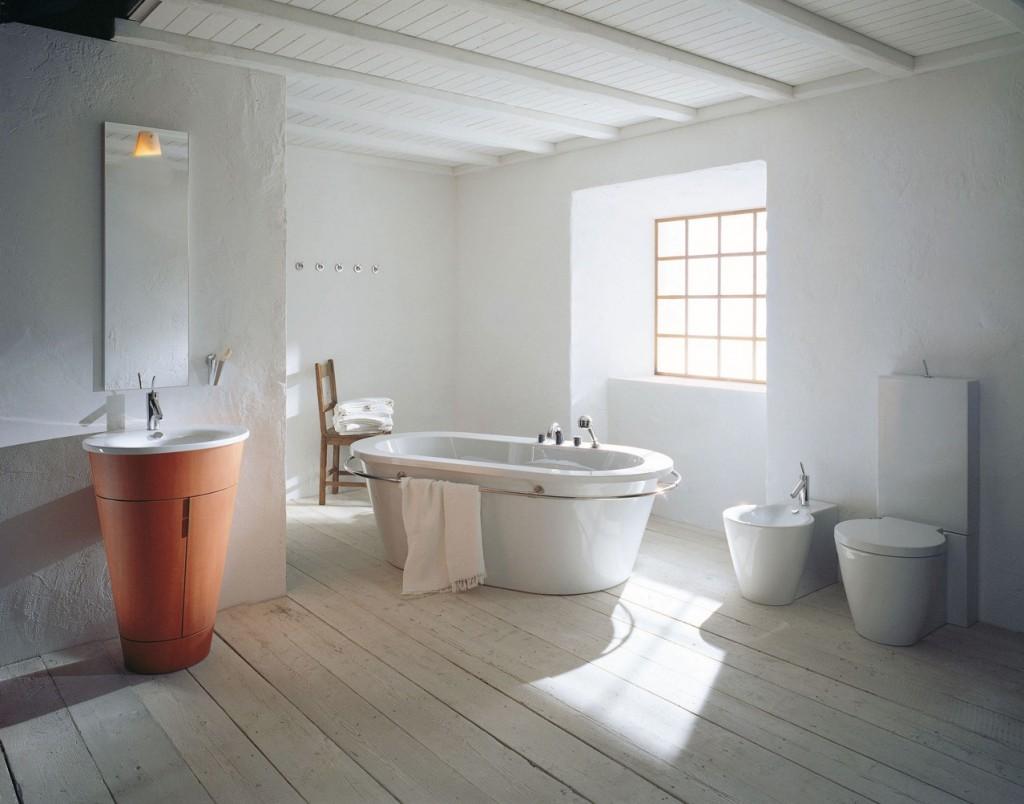 decoración de baños rusticos