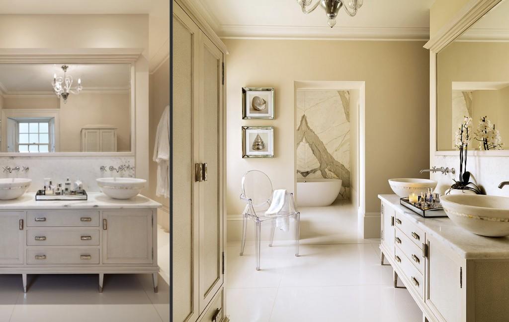 decoración de baños clásicos