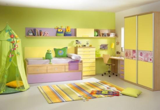 colores para paredes dormitorios infantiles