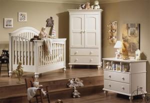 decoracion habitacion de bebes clasica