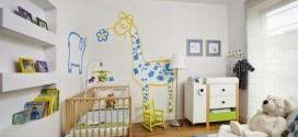 La mejor decoración de habitaciones de bebés
