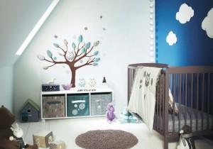 decoracion habitaciones de bebes pequeñas