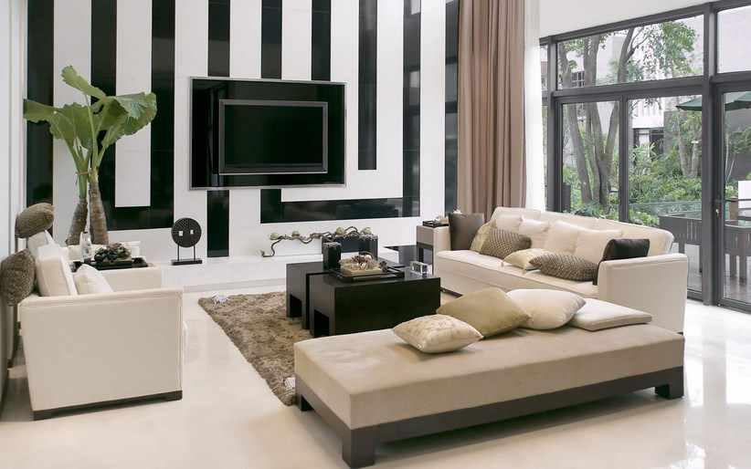 decoracion minimalista en salones