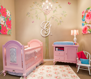 decoracion para cuartos de bebes niñas