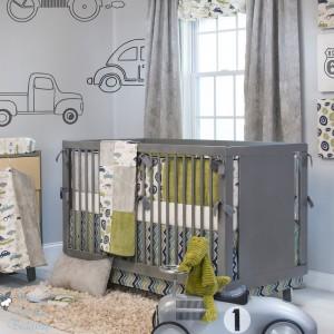 decoracion paredes dormitorio bebe varon