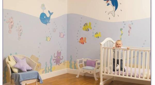 Decoracion paredes habitaciones de bebes hoy lowcost - Decoracion para bebes habitaciones ...