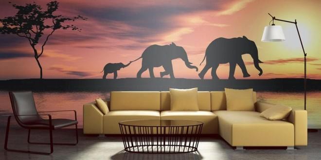 decoracion pintura paredes salones modernos | Hoy LowCost