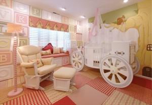 decoracion princesa para cuartos de bebes