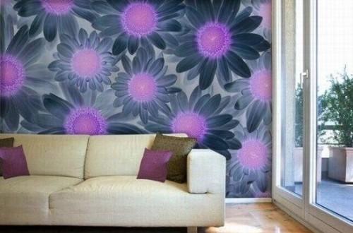 Decoracion salones modernos pintura hoy lowcost - Decoracion pintura salones ...