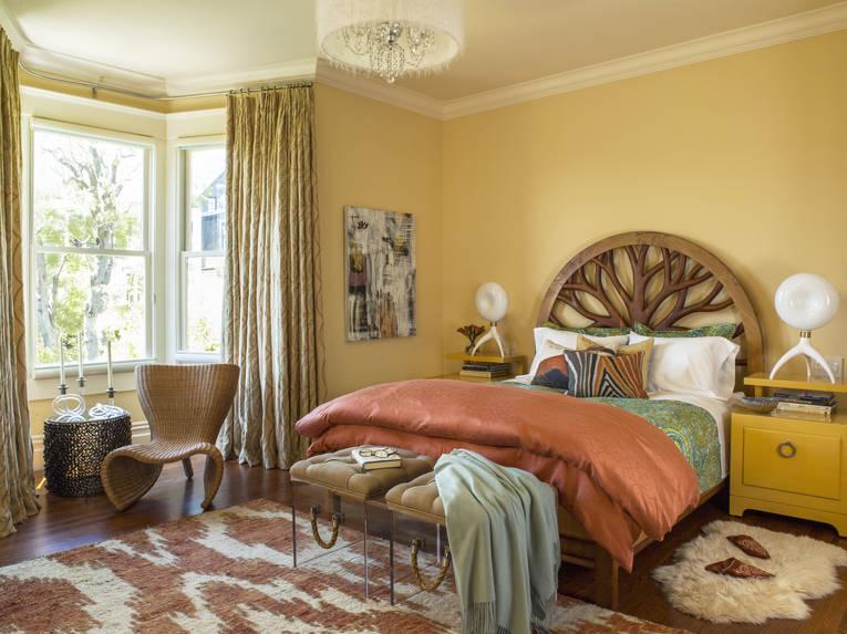 Ideas decoraci n de dormitorios matrimoniales hoy lowcost for Decoracion de habitaciones sencillas