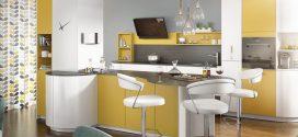 La cocina con isla. Diseños 2019