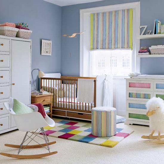 diseño colores dormitorio bebes