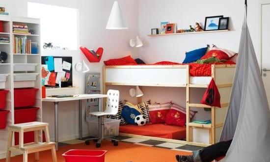 diseño cuarto infantil ikea con baules y ordenacion | Hoy LowCost