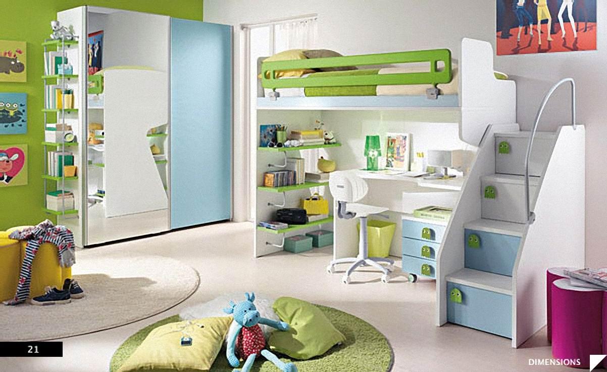 diseño decoracion cuartos niños