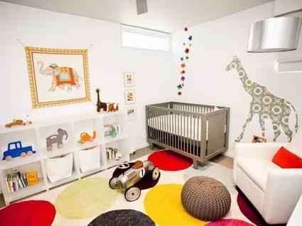 diseño decoracion dormitorio para bebe