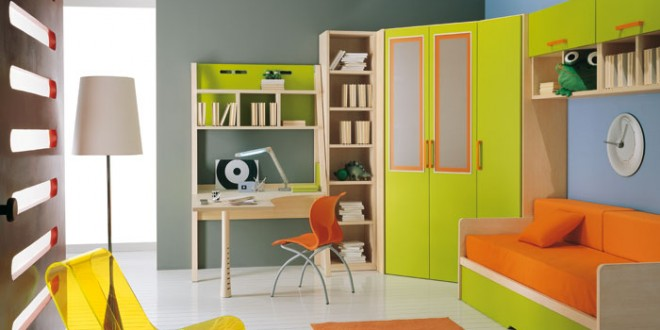 Dise o habitacion infantil colores calidos hoy lowcost - Diseno habitacion infantil ...