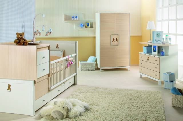 diseño habitaciones muebles convertibles bebes