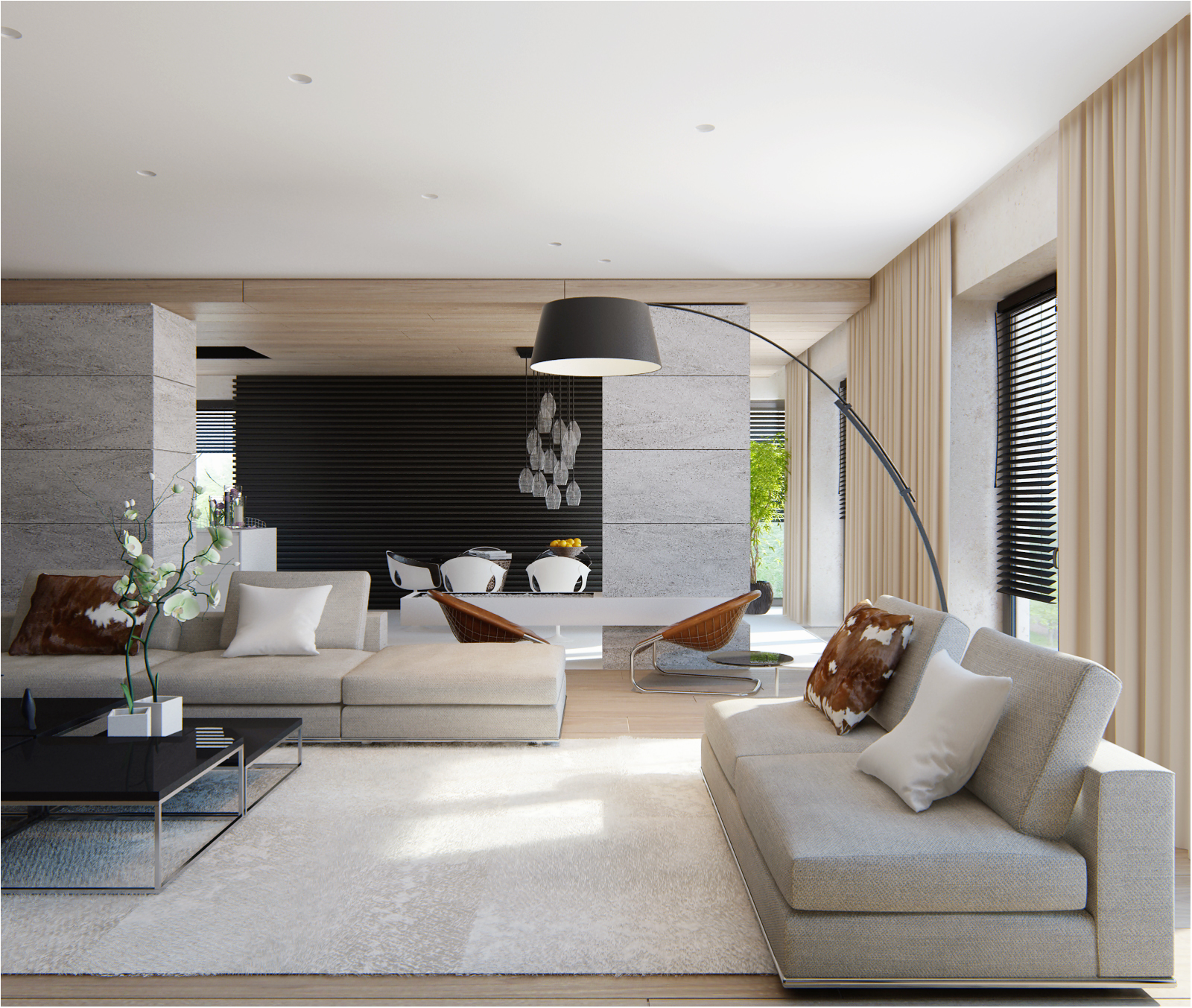 Remarkable House Design Living Space Concepts: DECORACIÓN DE SALONES MODERNOS ESTILO MINIMALISTA