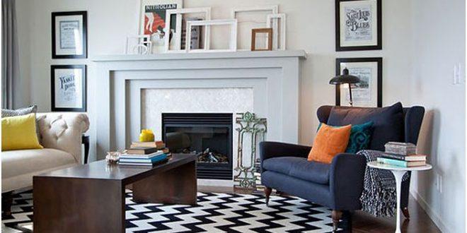 Diseno salones alfombras hoy lowcost - Alfombras para salones ...