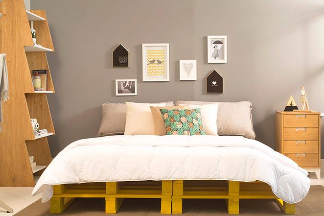 dormitorio barato palets