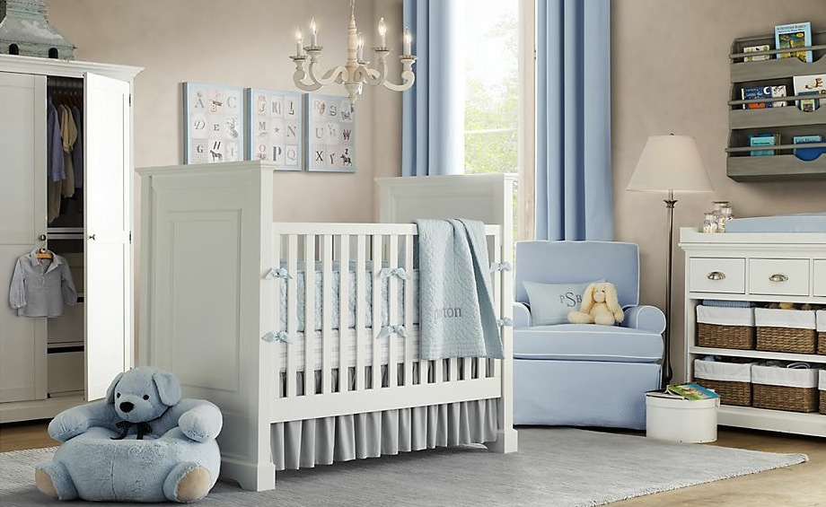 dormitorio bebe elegante decoracion