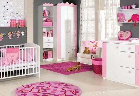 dormitorio bebe niña decoracion muebles utiles | Hoy LowCost