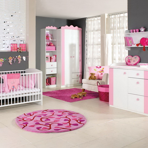 Dormitorio bebe ni a decoracion muebles utiles hoy lowcost for Decoracion bebe nina