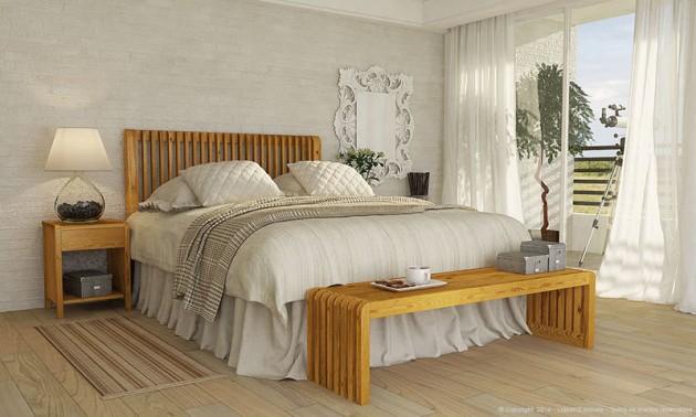 Ideas decoraci n de dormitorios matrimoniales hoy lowcost - Bancos para dormitorio matrimonio ...