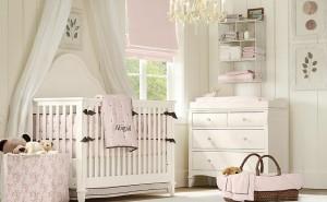 dormitorio para bebes en blanco