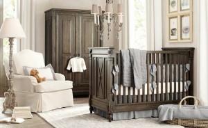 estilo clasico habitaciones de bebes