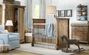 estilo rustico dormitorios para bebes