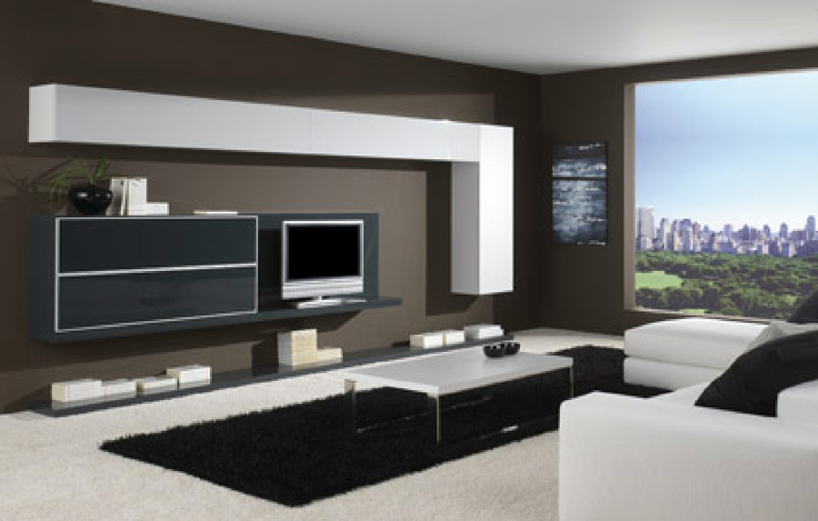 Decoraci n de salones modernos estilo minimalista hoy - Salones de diseno minimalista ...
