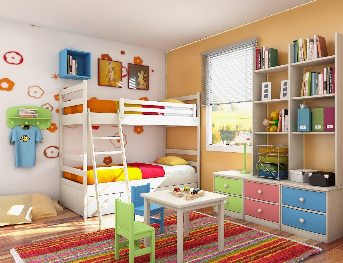 habitacion con literas