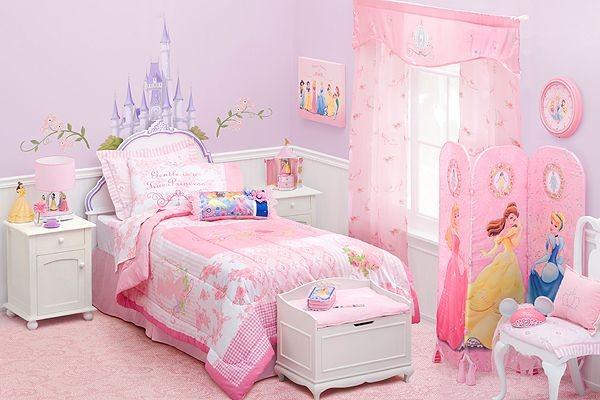 decoracion habitacion infantil con princesas