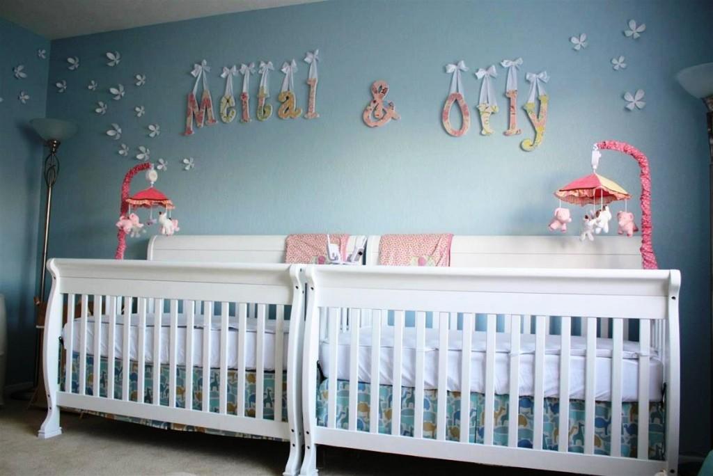 habitaciones para bebes mellizos